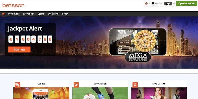 Betsson Casino Review 2020 Best Indian Casino Guide Bonus