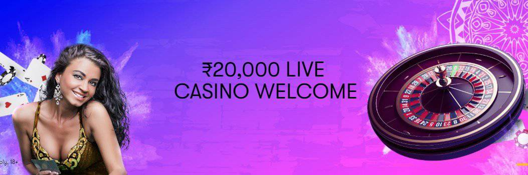 screenshot of 10CRIC Casino's homepage