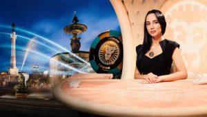 screenshot of the live casino games at leovegas