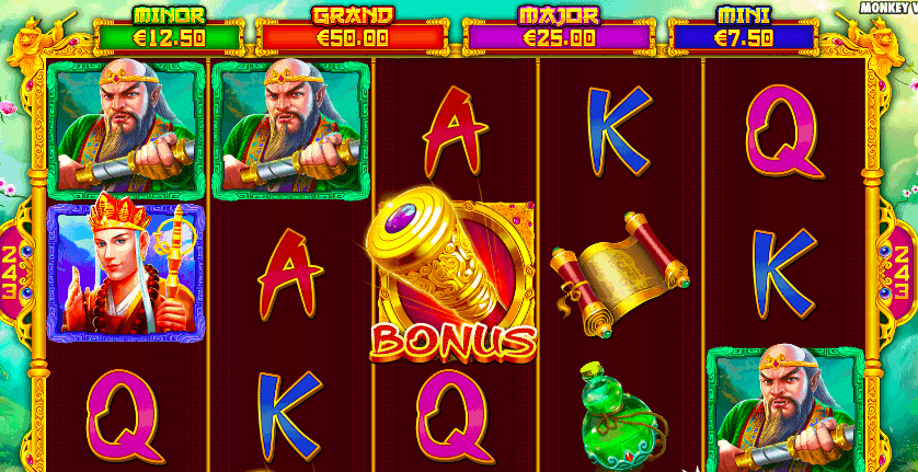 screenshot of Monkey Warrior
