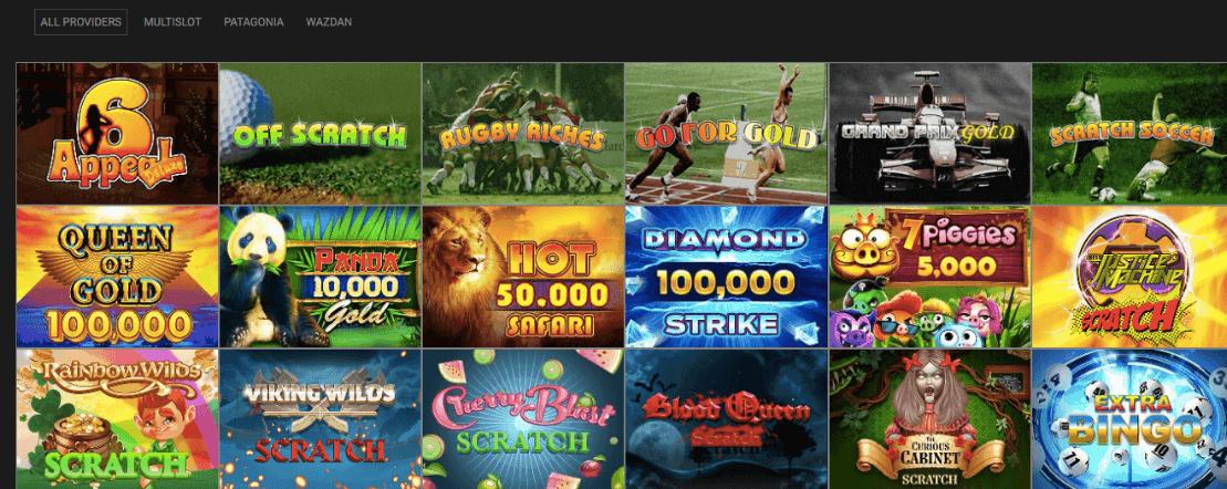 screenshot of bingo game at betpukka Casino