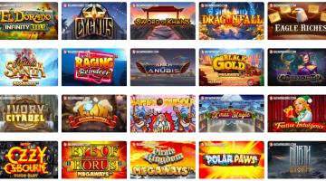 Slots, Slots and more Slots this December!