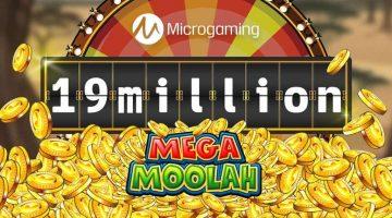 Knock knock, here's your Mega Moolah Jackpot!