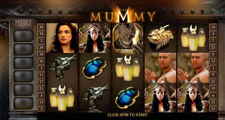 screenshot of The Mummy