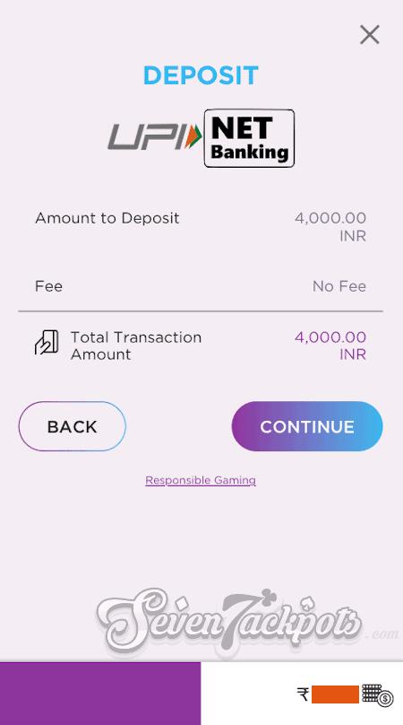 Step 3 Deposit