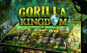 Logo for Gorilla Kingdom slot by NetEnt