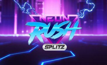 Logo for Neon Rush Splitz Slot by Yggdrasil