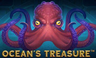 Logo for Ocean Treasure Slot by NetEnt