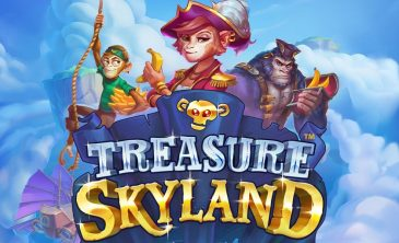 Logo for Treasure Skyland Slot by Microgaming
