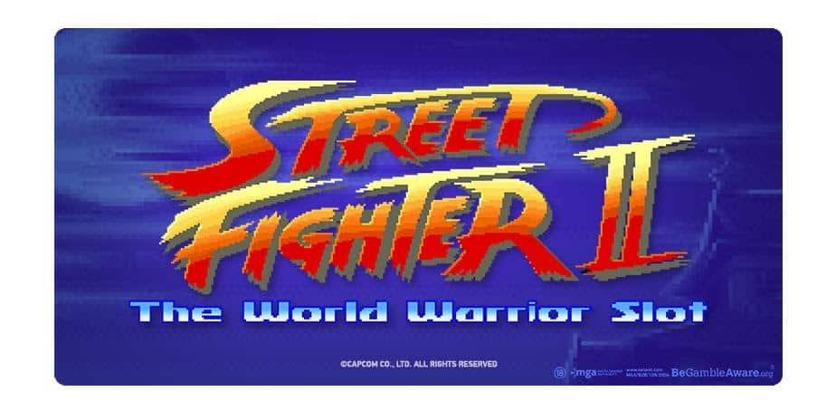 Street fighter 2 slot logo by NetEnt
