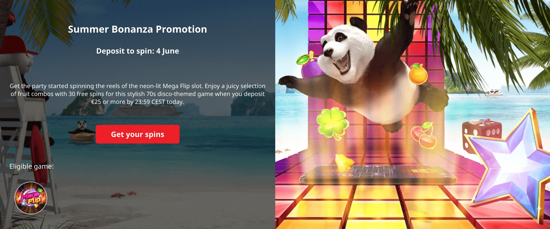 screenshot showing the daily offer at Royal Panda