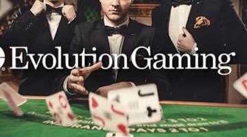 Evolution Gaming Live Blackjack Selection