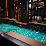 image of a craps table for craps strategy