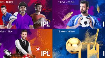 The Complete 10CRIC Cricket IPL-bonus Calendar!