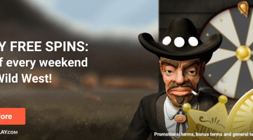 Get up to 75 Cash Free Spins every Friday at LeoVegas!