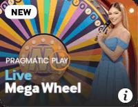 screenshot of live mega wheel