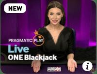 screenshot of live one blackjack