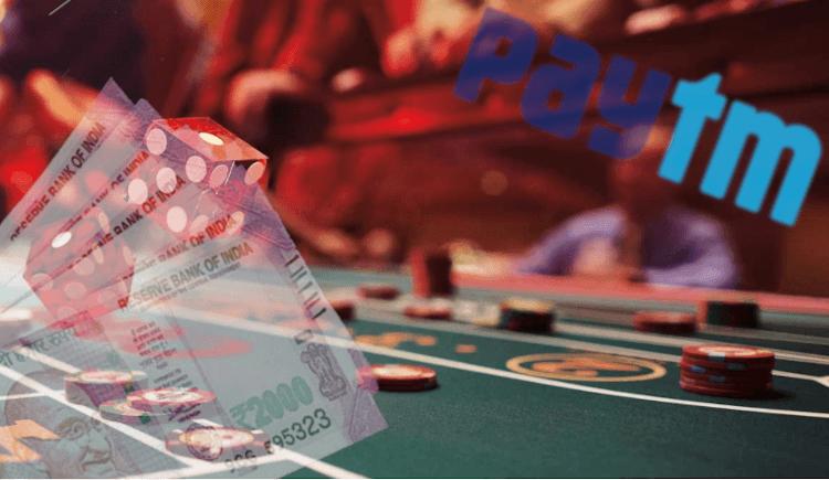 gambar tabel roulette, rupee, dan logo paytm