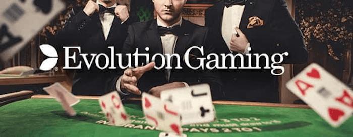 Evolution Gaming live blackjack selection 2020